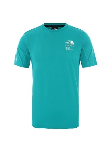 The North Face Glacier Erkek T-Shirt Yeşil Yeşil